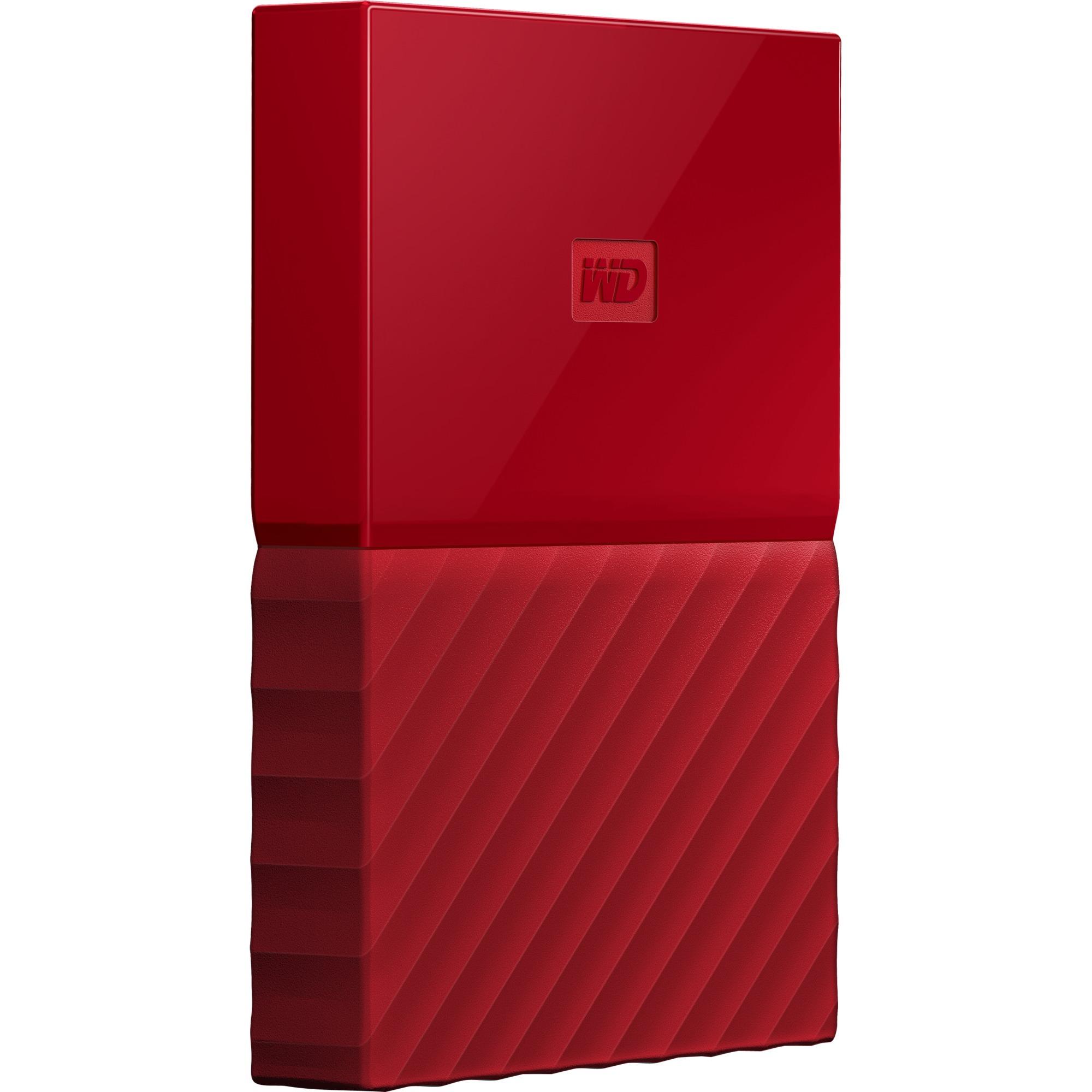 My Passport 2000Go Rouge disque dur externe