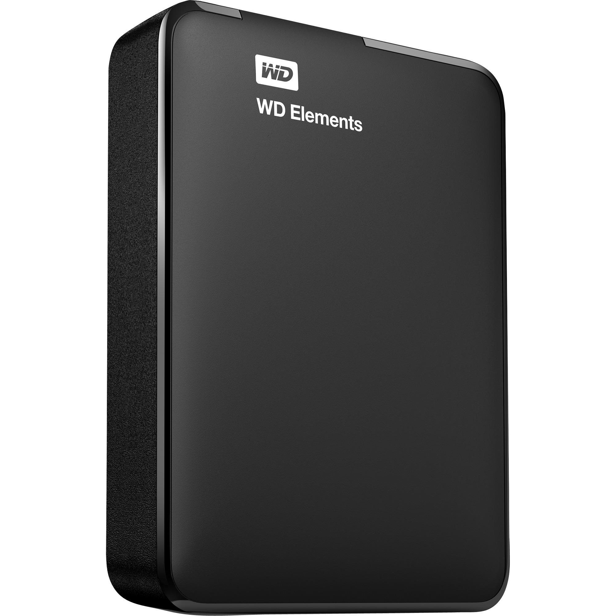 WD Elements Portable 2000Go Noir disque dur externe