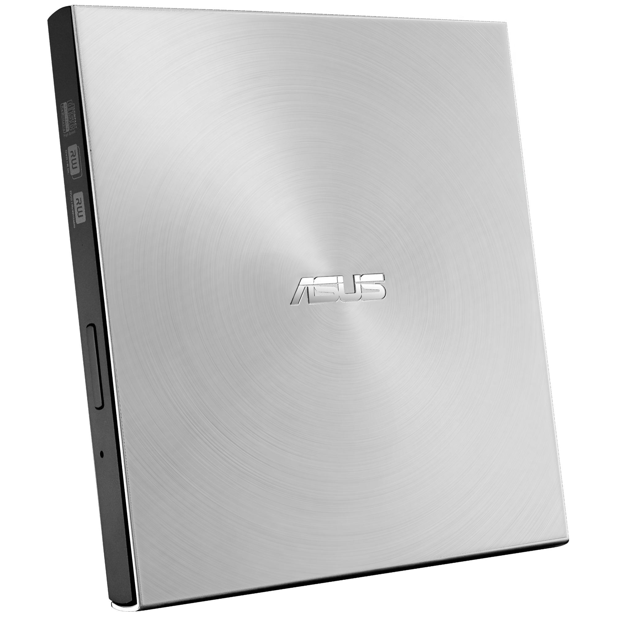 SDRW-08U7M-U DVD±RW Argent lecteur de disques optiques, graveur de DVD externe