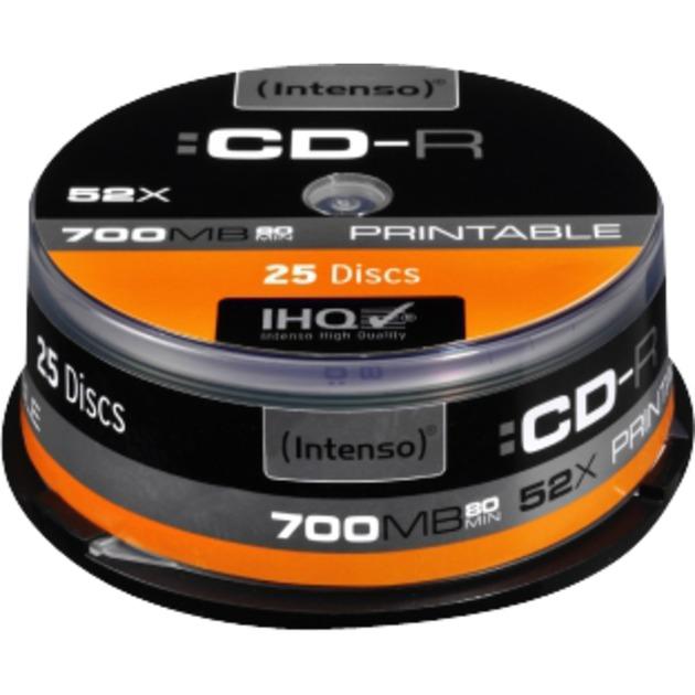 CD-R 700MB CD-R 700Mo 25pièce(s)