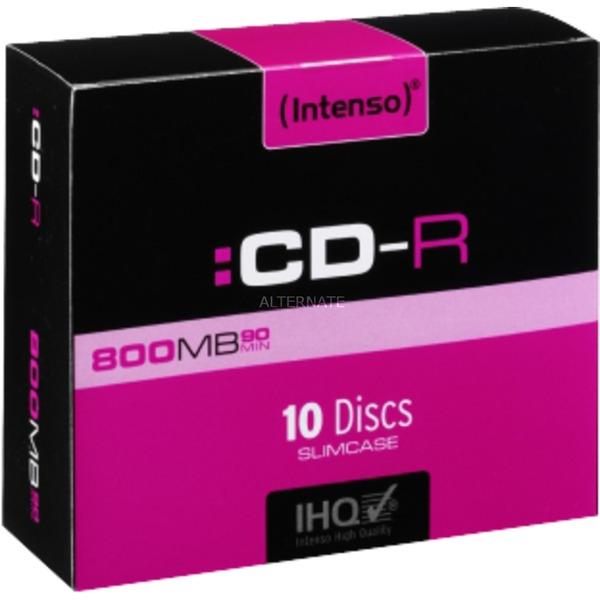 CD-R 800MB/90min CD-R 800Mo 10pièce(s)