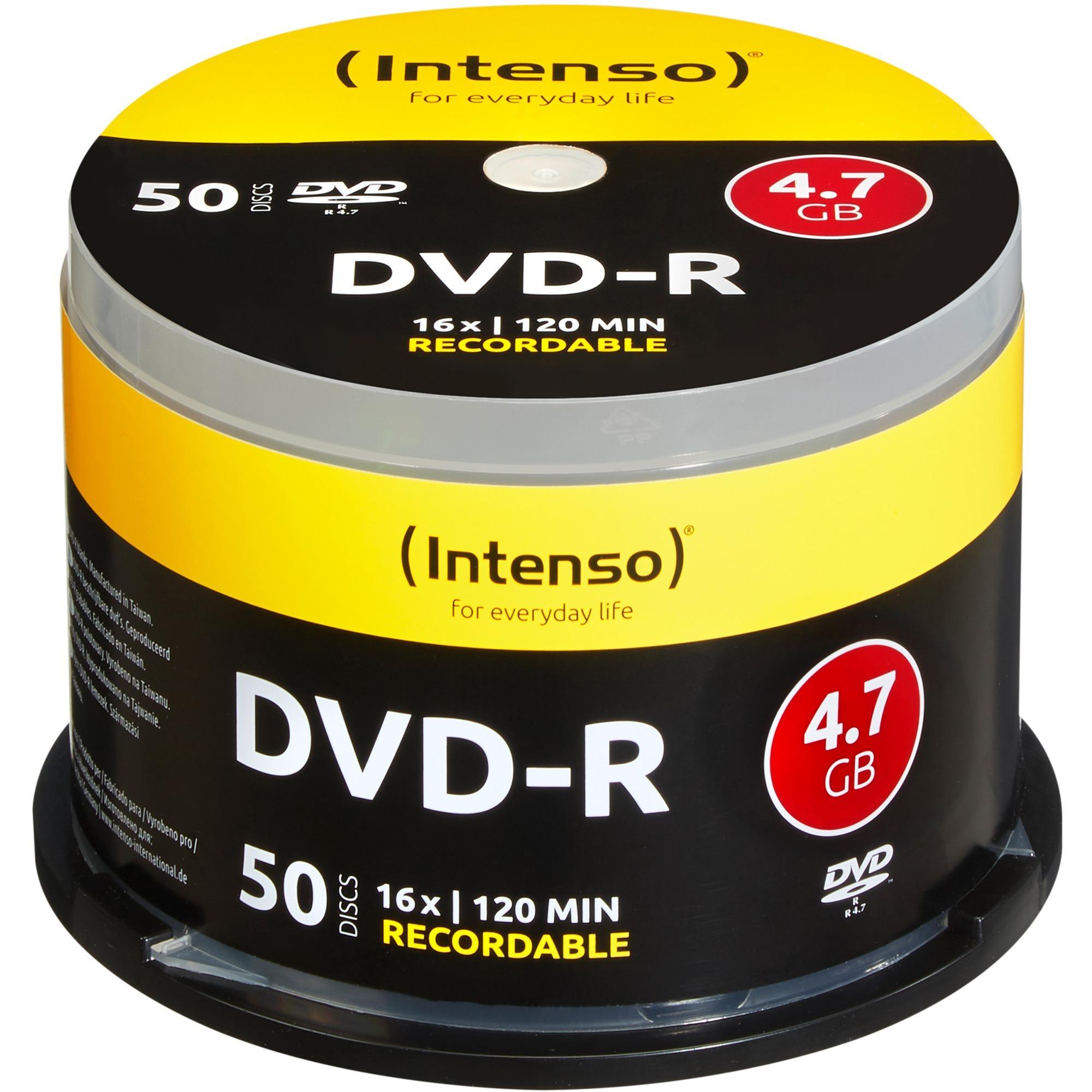 DVD-R 4.7GB, 16x 4.7Go DVD-R 50pièce(s), Support vierge DVD