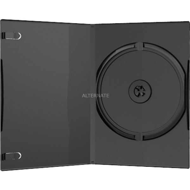 BOX11 Boîtier DVD 1disques Noir étui disque optique, Étui de protection