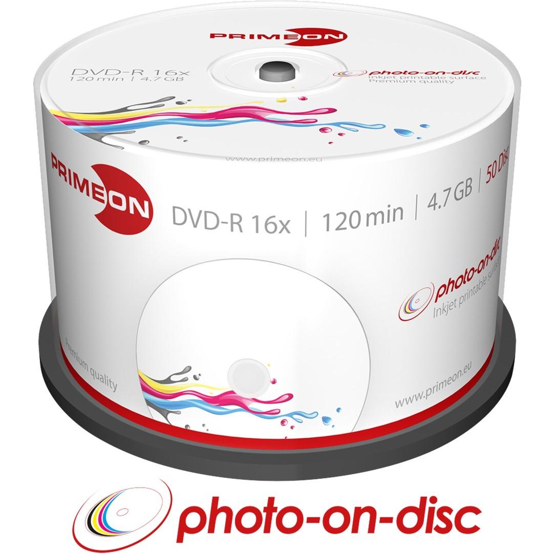 2761206 4.7Go DVD-R 50pièce(s) DVD vierge, Support vierge DVD