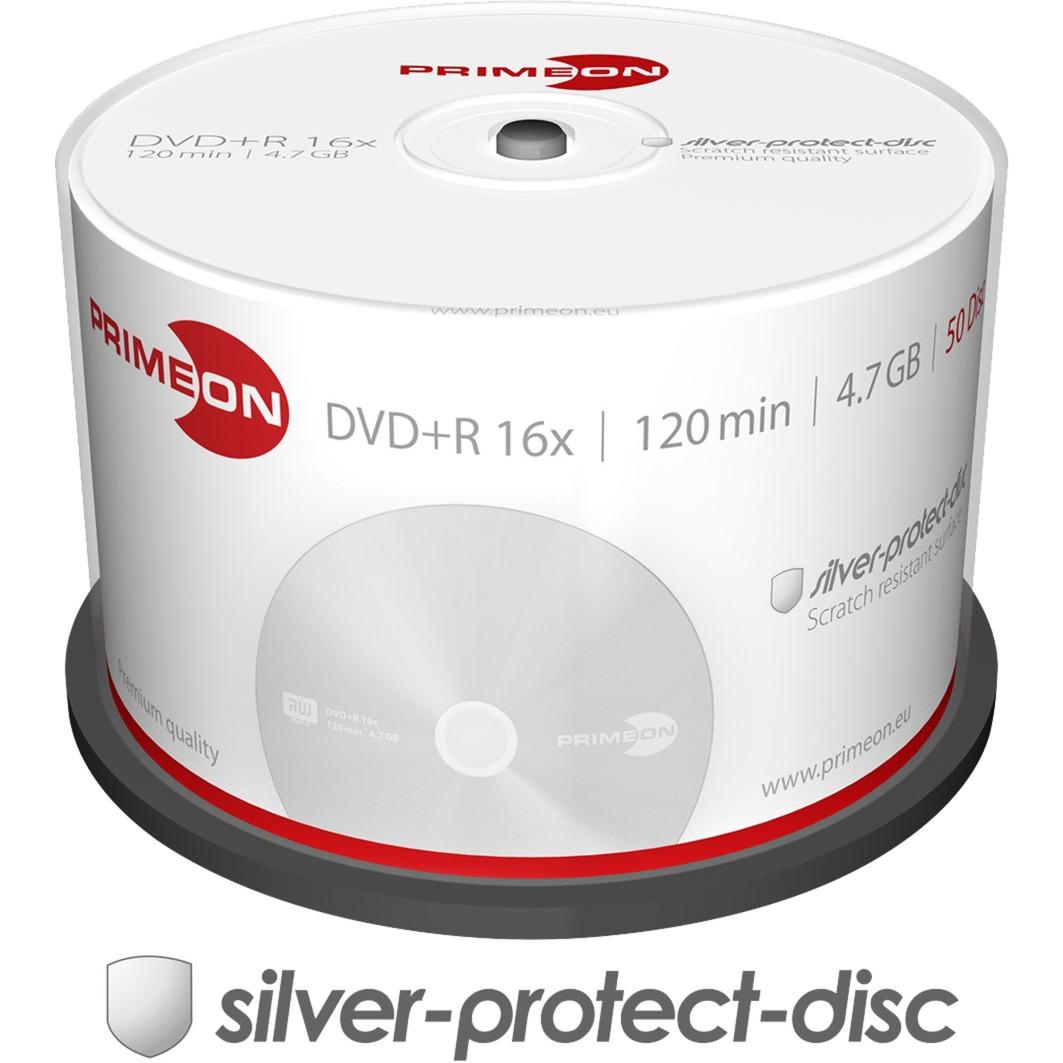 2761224 4.7Go DVD+R 50pièce(s) DVD vierge, Support vierge DVD