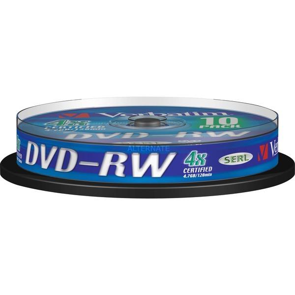 DVD-RW 4,7 Go, Support vierge DVD
