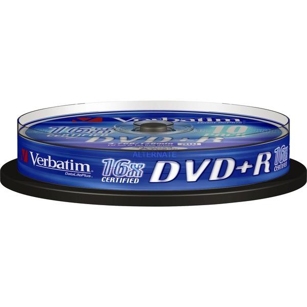 DVD+R 4,7 Go Matt Silver, Support vierge DVD