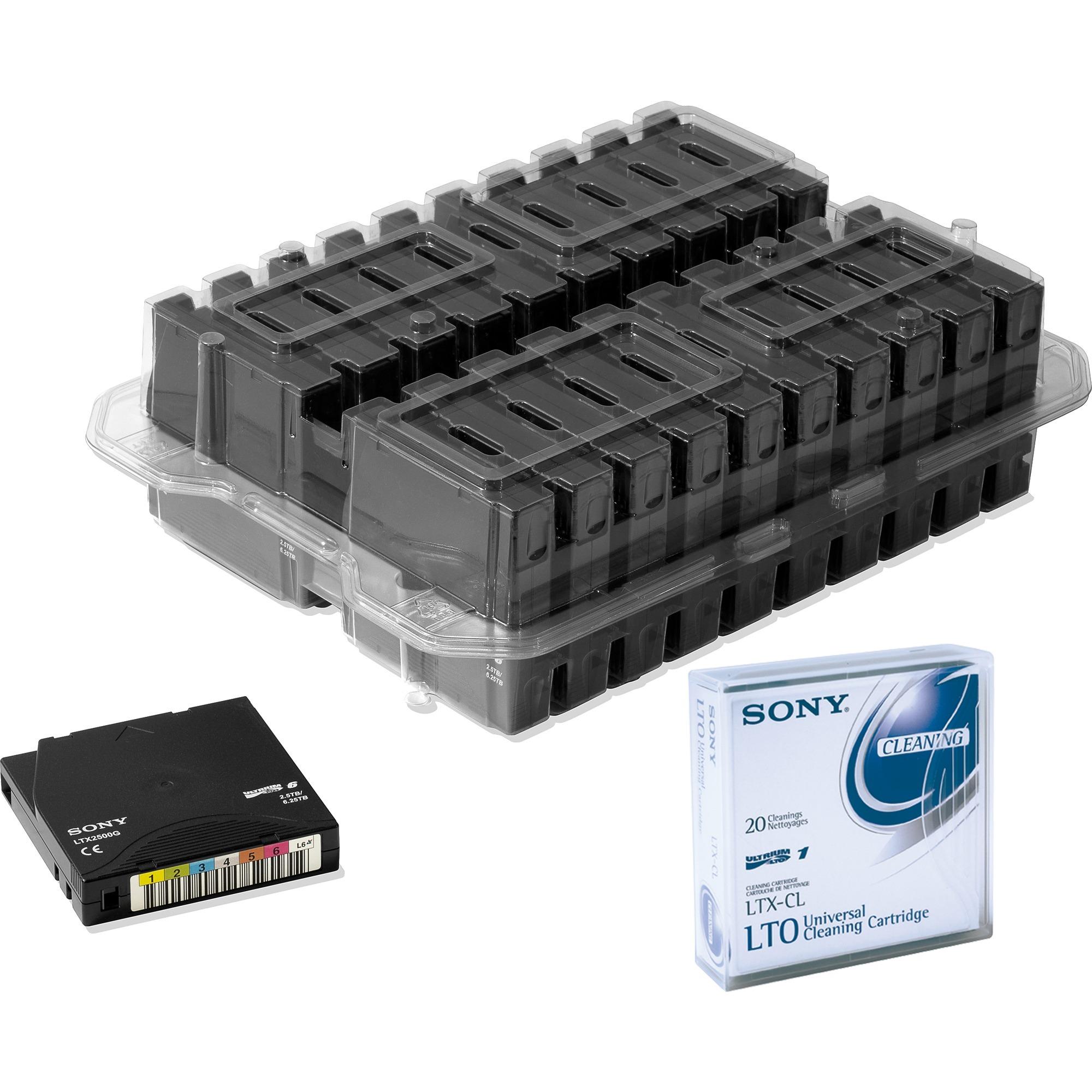 LTO6, 6.25TB/2.5TB 2500Go LTO, Streamer-moyen