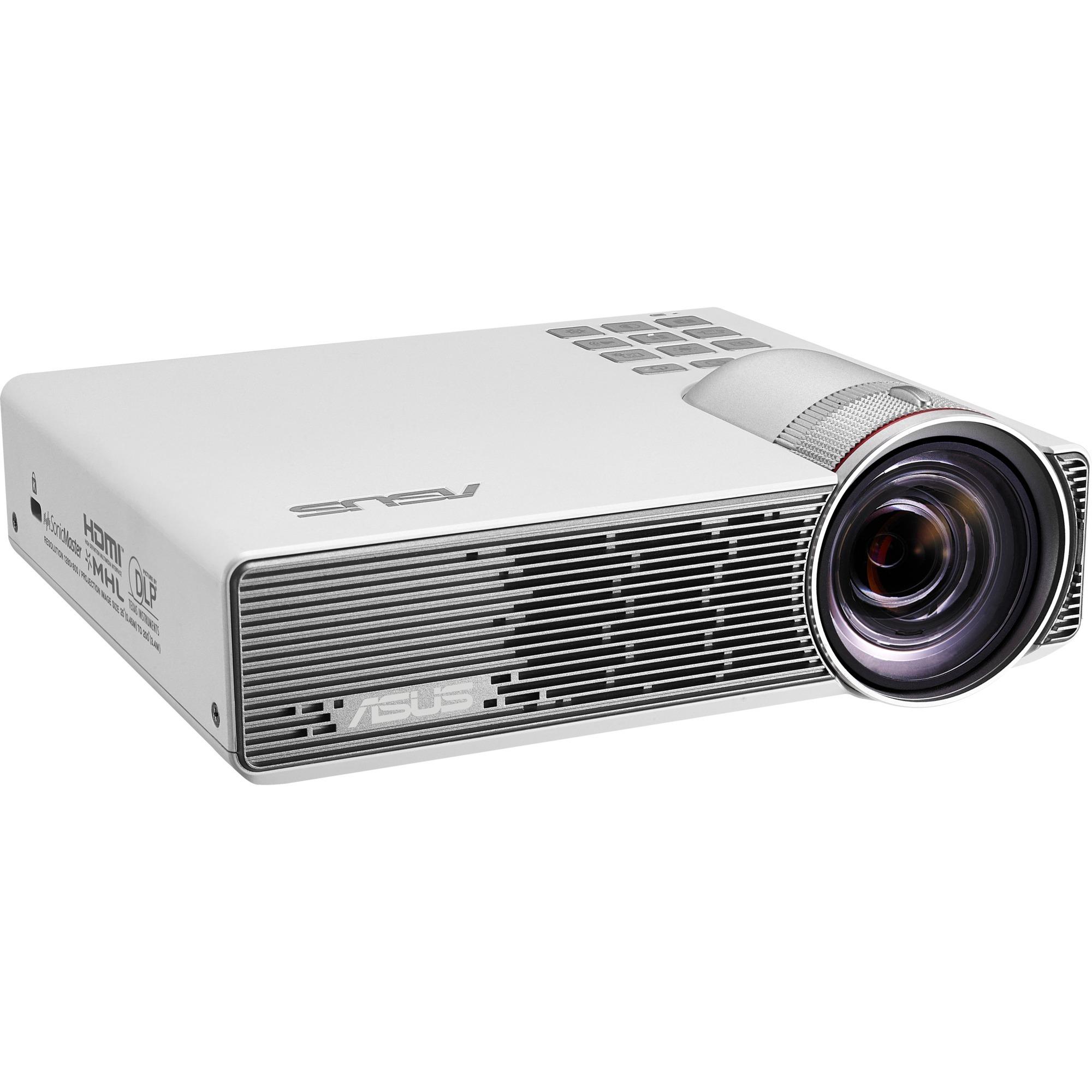 P3B Vidéoprojecteur portable 800ANSI lumens DLP WXGA (1280x800) Blanc vidéo-projecteur, Projecteur DLP