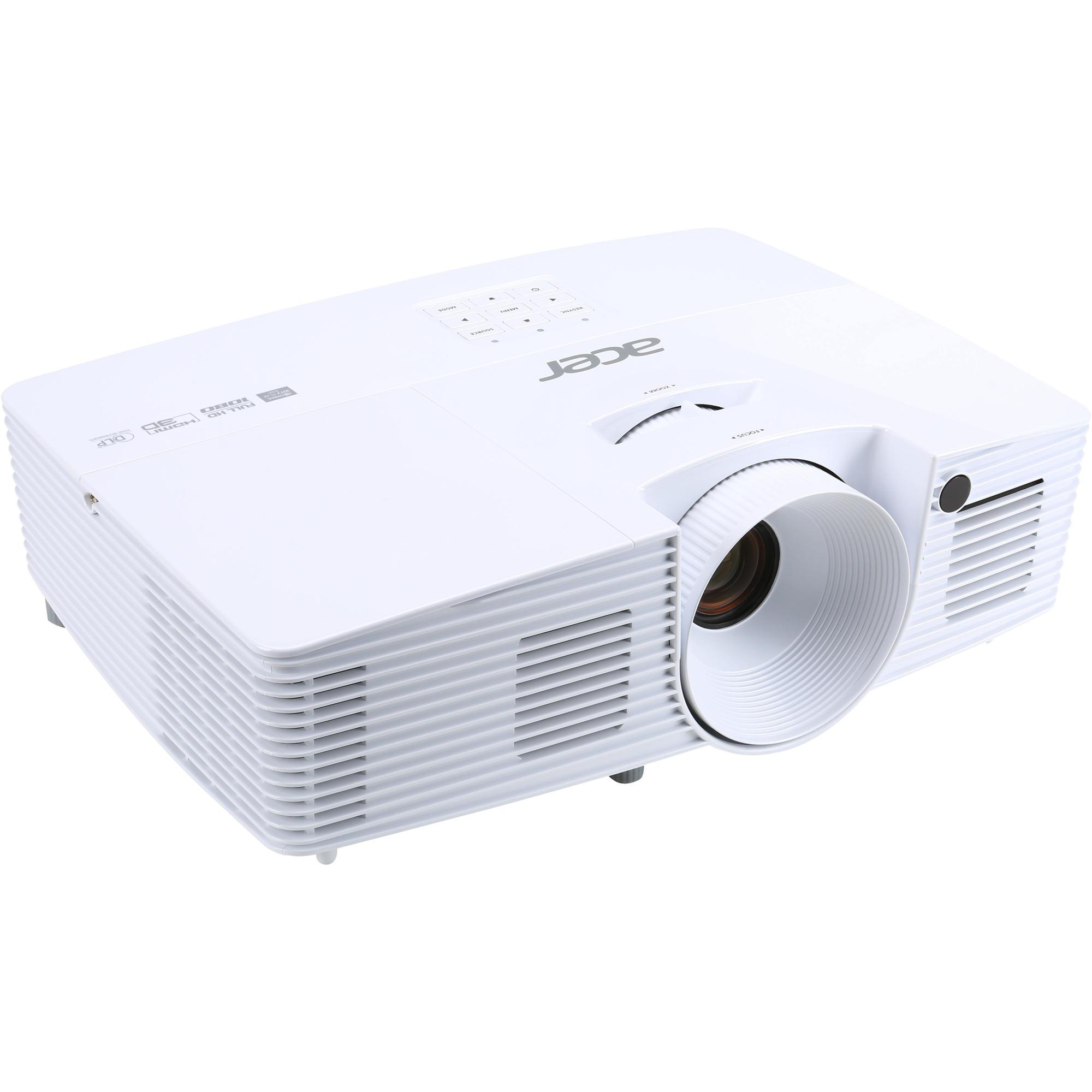 H6519ABD Projecteur de bureau 3400ANSI lumens DLP 1080p (1920x1080) Compatibilité 3D Blanc vidéo-projecteur, Projecteur DLP