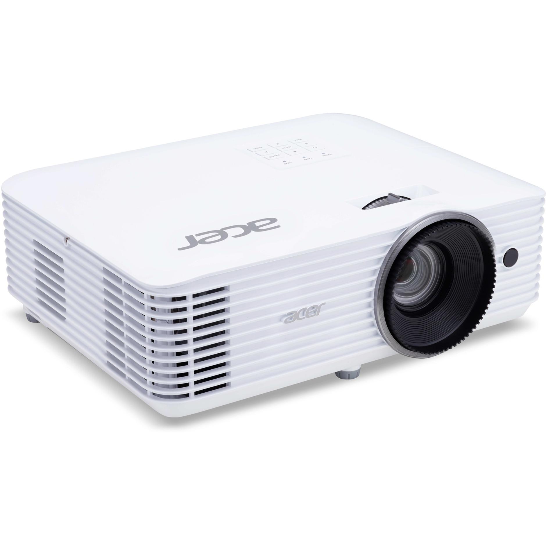 Home MR.JQ011.001 Ceiling-mounted projector 3500ANSI lumens DLP 1080p (1920x1080) Blanc vidéo-projecteur, Projecteur DLP
