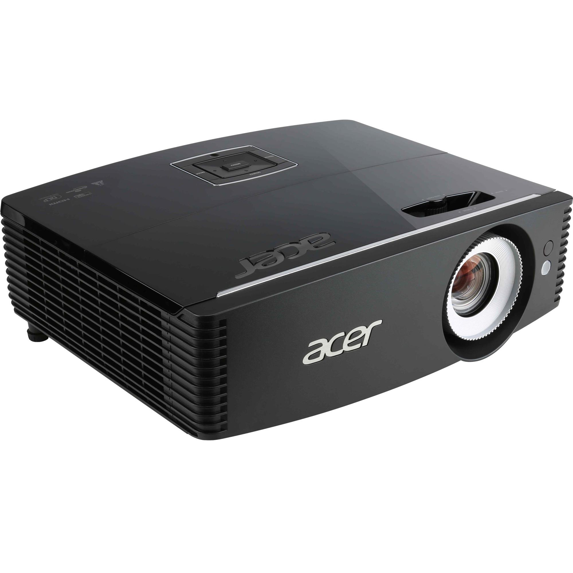Professional and Education P6200 Projecteur de bureau 5000ANSI lumens DLP XGA (1024x768) Compatibilité 3D Noir vidéo-projecteur, Projecteur DLP