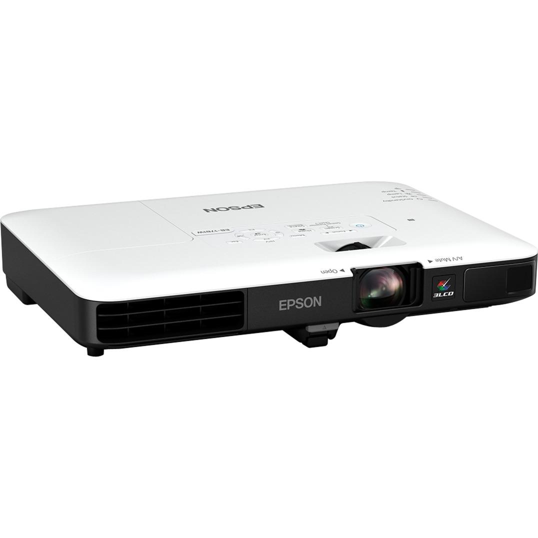 EB-1781W Projecteur de bureau 3200ANSI lumens 3LCD WXGA (1280x800) Noir, Blanc vidéo-projecteur, Projecteur LCD