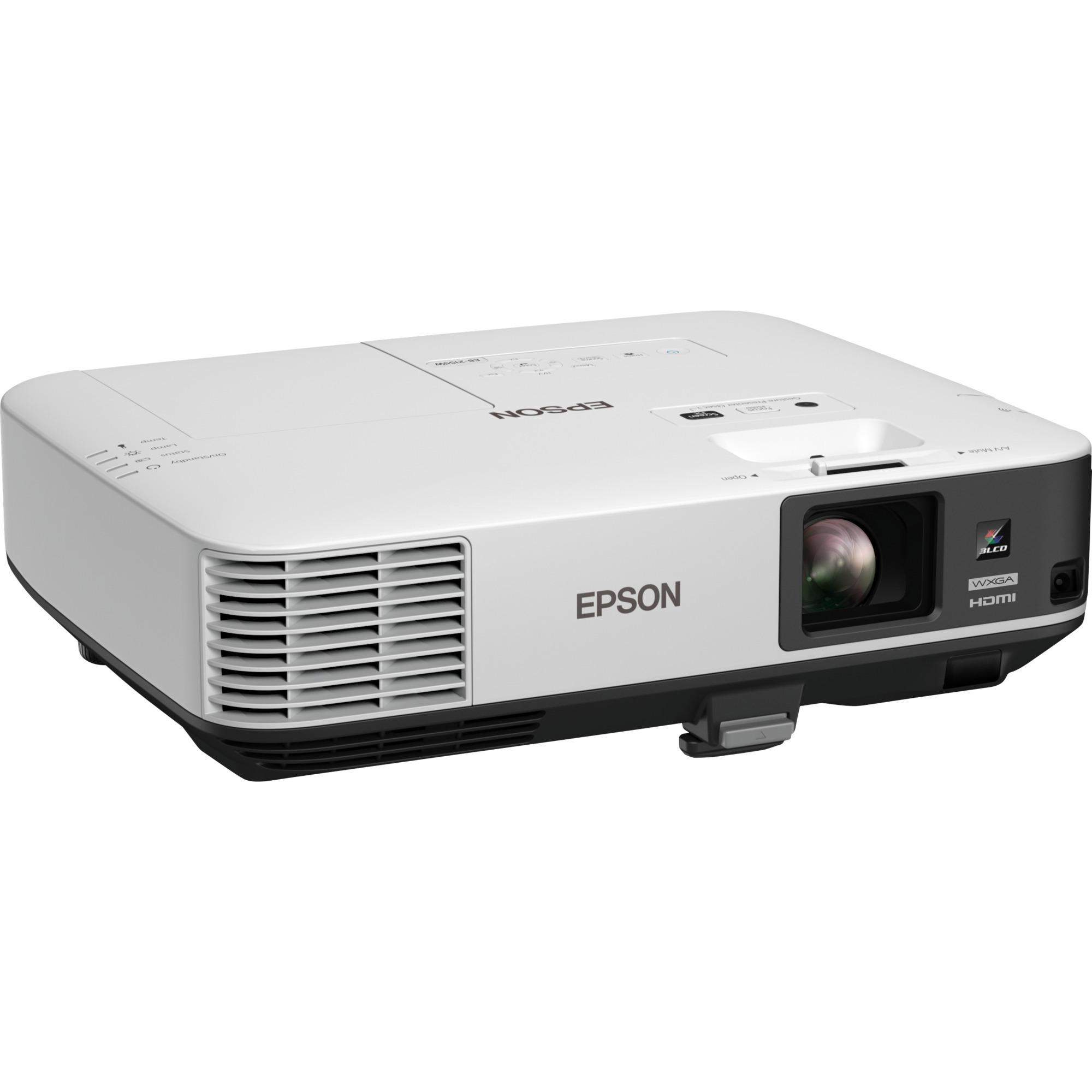 EB-2155W Projecteur de bureau 5000ANSI lumens 3LCD WXGA (1280x800) Blanc vidéo-projecteur, Projecteur LCD