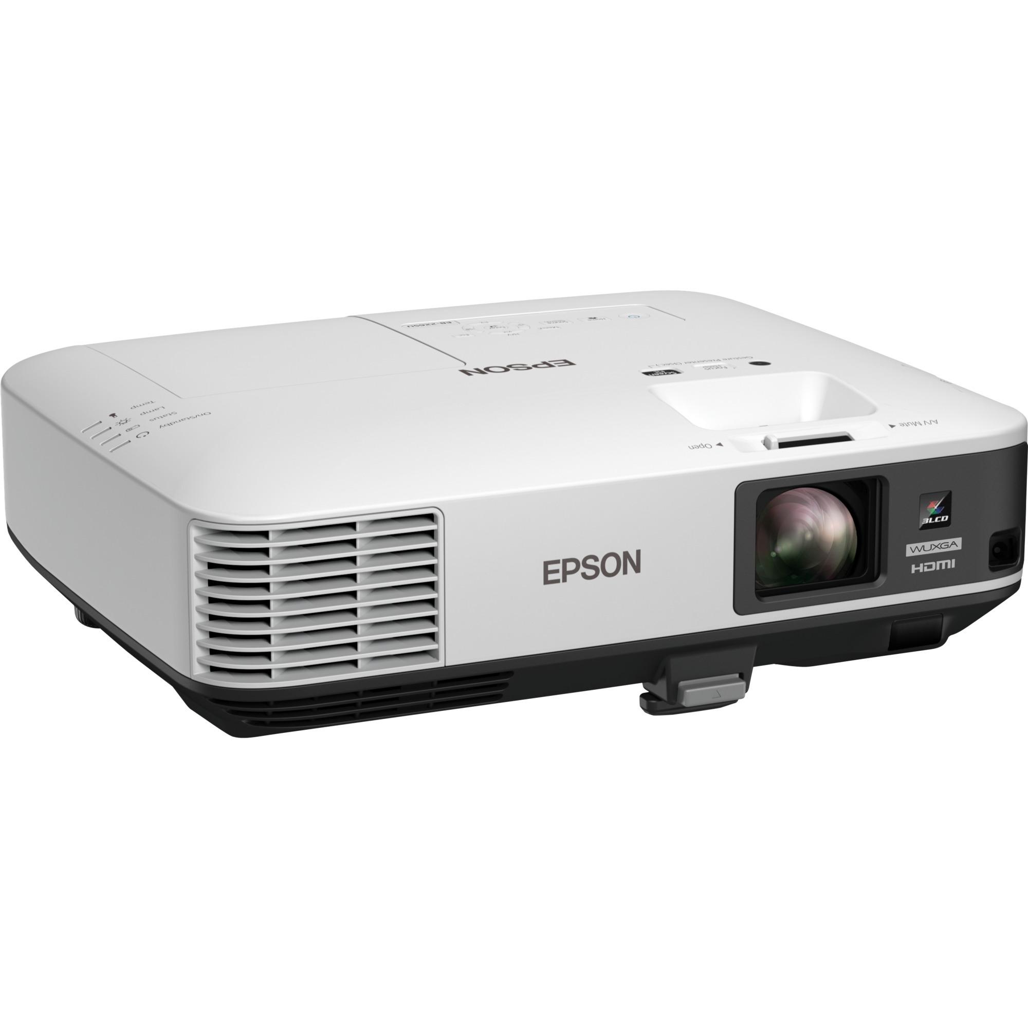 EB-2255U Projecteur de bureau 5000ANSI lumens 3LCD WUXGA (1920x1200) Blanc vidéo-projecteur, Projecteur LCD