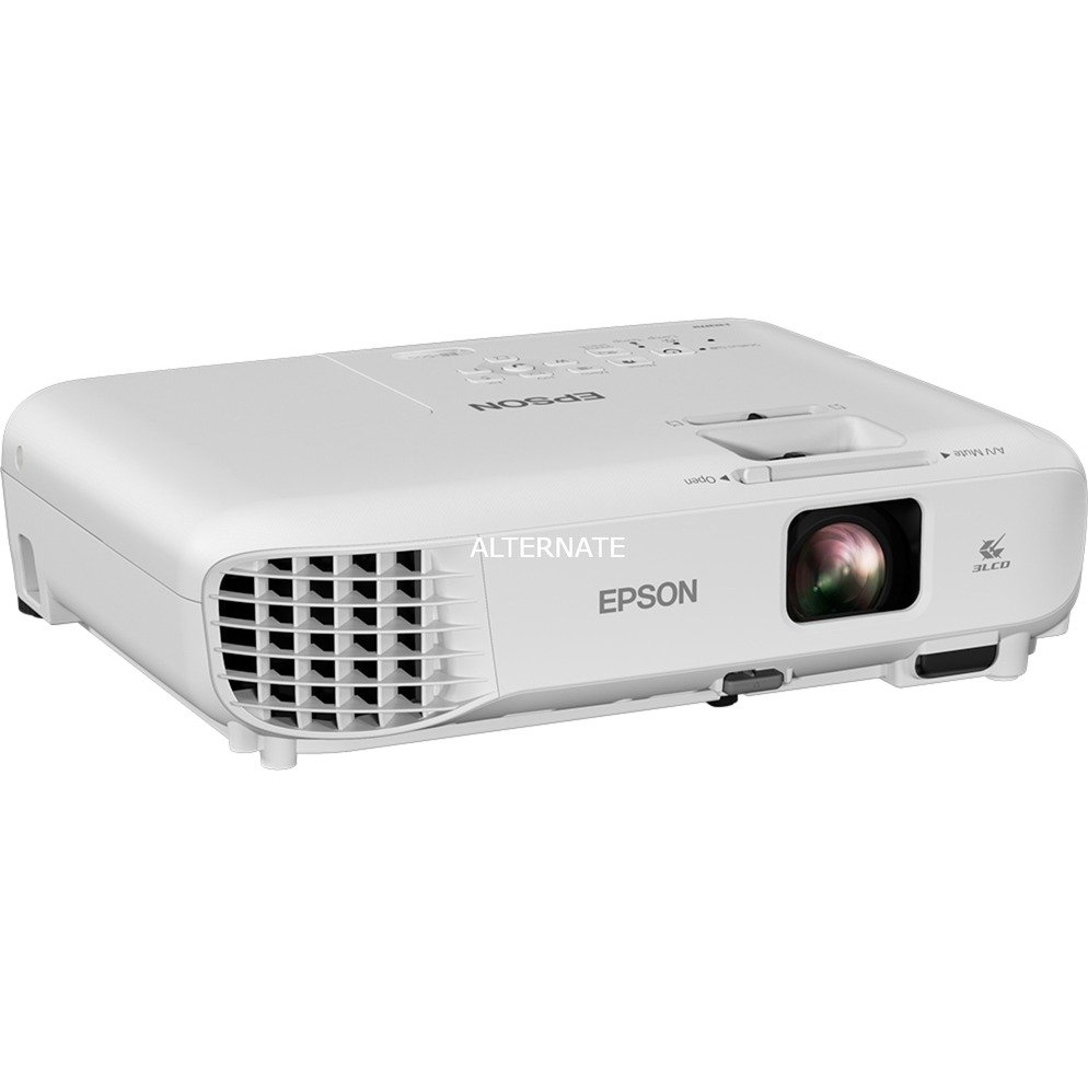 EB-S05 Projecteur de bureau 3200ANSI lumens 3LCD SVGA (800x600) Blanc vidéo-projecteur, Projecteur LCD