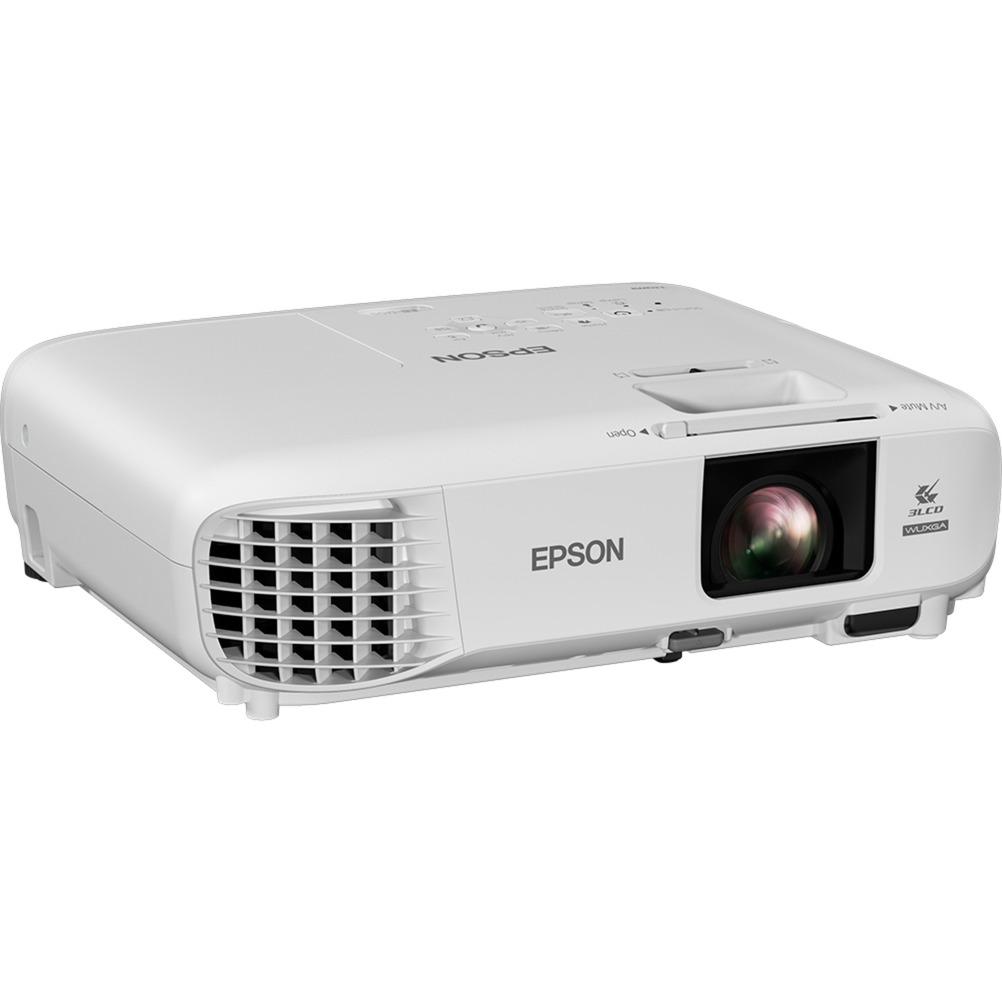 EB-U05 Projecteur de bureau 3400ANSI lumens 3LCD WUXGA (1920x1200) Blanc vidéo-projecteur, Projecteur LCD