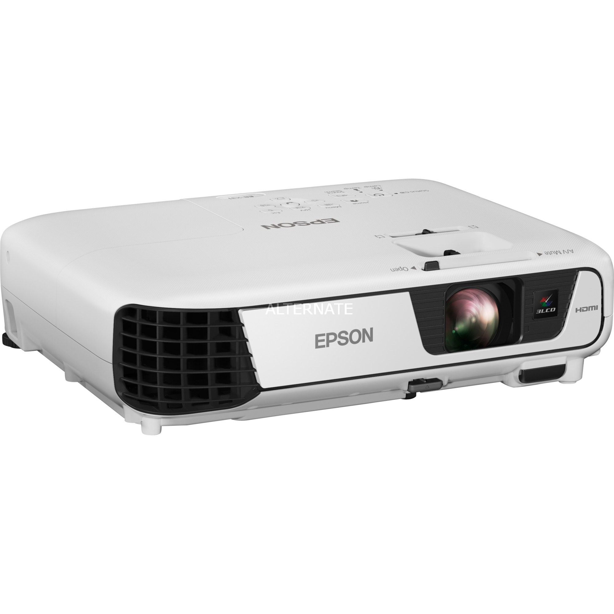 EB-X31 Projecteur de bureau 3300ANSI lumens 3LCD XGA (1024x768) Blanc vidéo-projecteur, Projecteur LCD