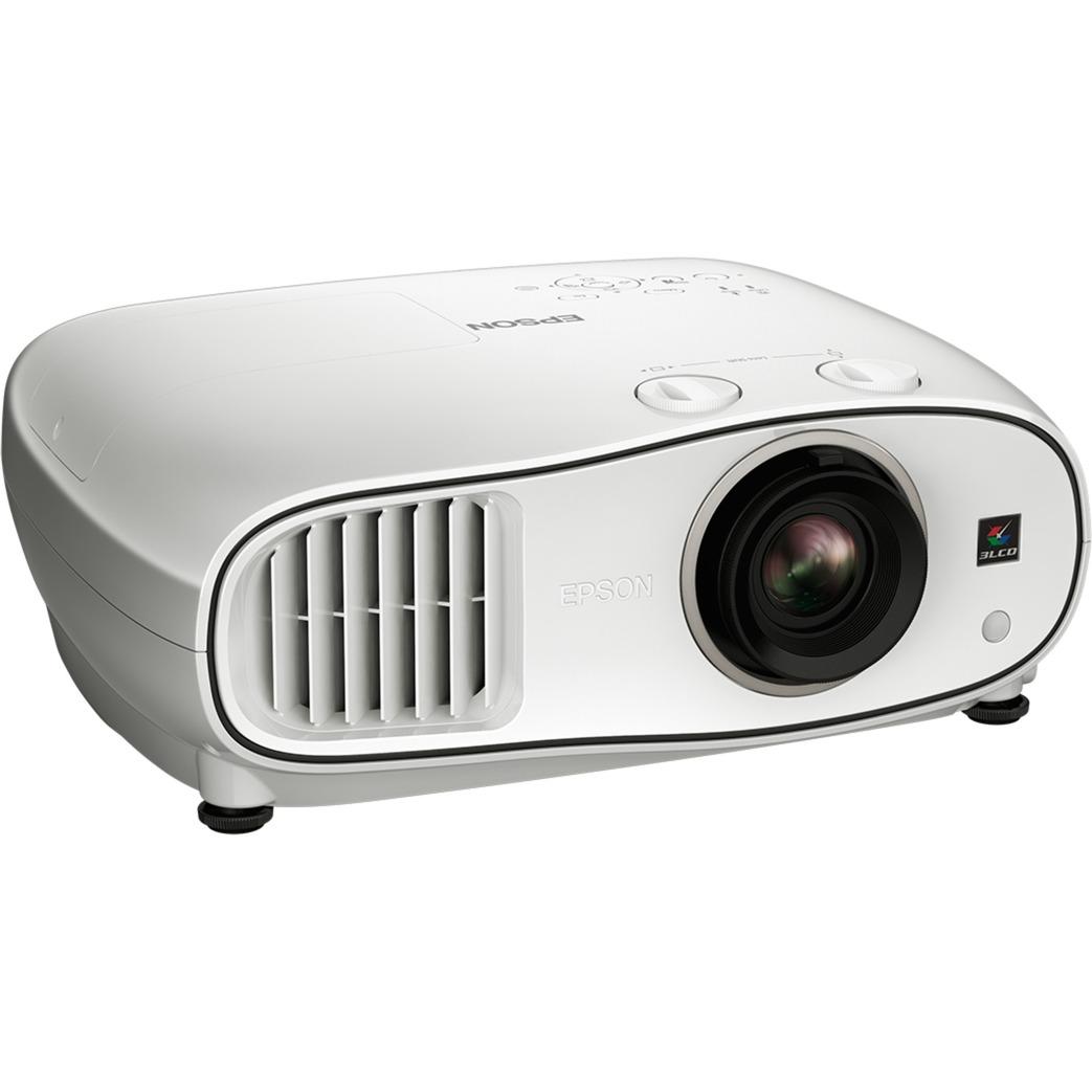 EH-TW6700W Projecteur de bureau 3000ANSI lumens 3LCD 1080p (1920x1080) Compatibilité 3D Blanc vidéo-projecteur, Projecteur LCD