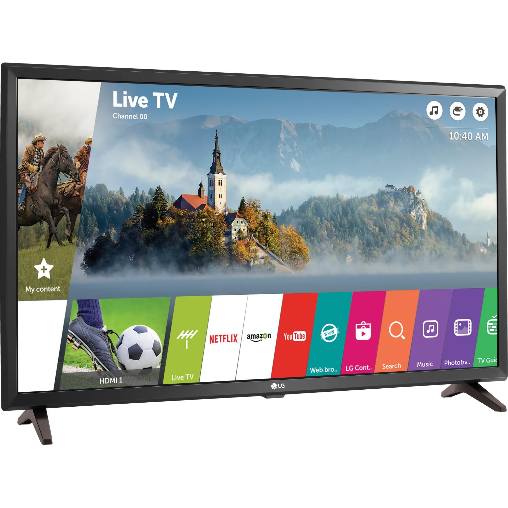 32LJ610V 32 Full HD Smart TV Wifi Noir écran LED, Téléviseur LED