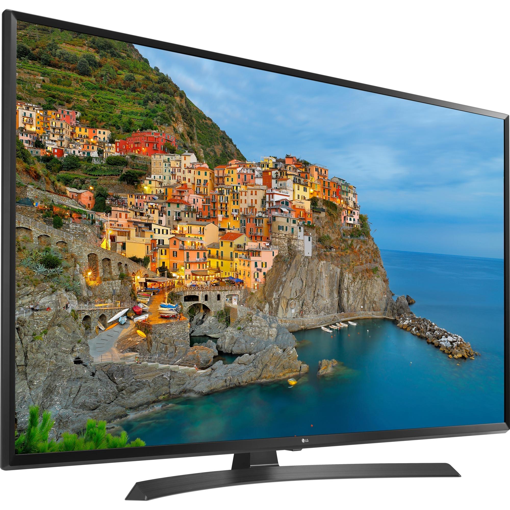 43UJ635V 43 4K Ultra HD Smart TV Wifi Noir écran LED, Téléviseur LED