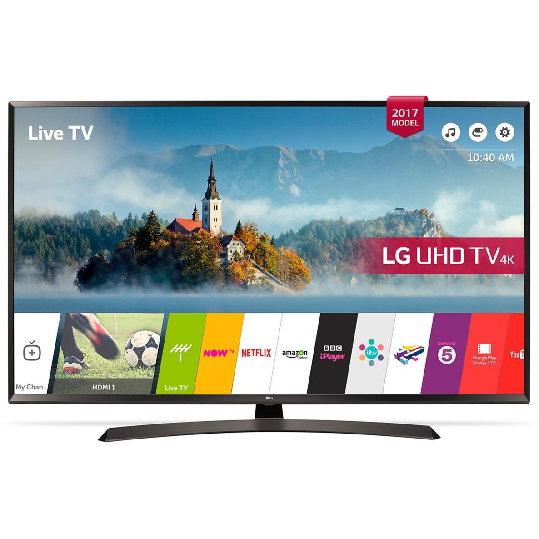55UJ635V 55 4K Ultra HD Smart TV Wifi Noir écran LED, Téléviseur LED
