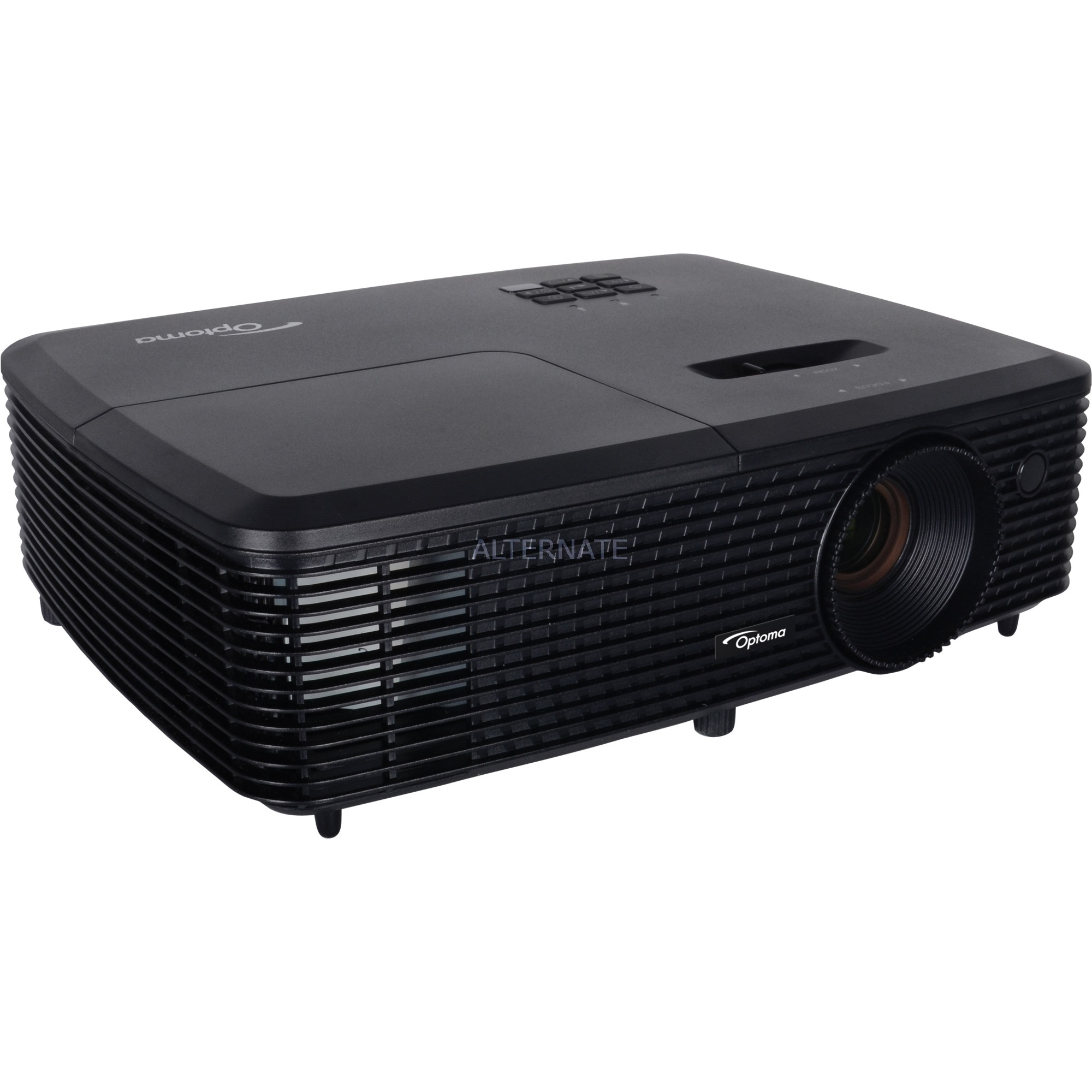 H114 Projecteur de bureau 3400ANSI lumens DLP WXGA (1280x800) Compatibilité 3D Noir vidéo-projecteur, Projecteur DLP