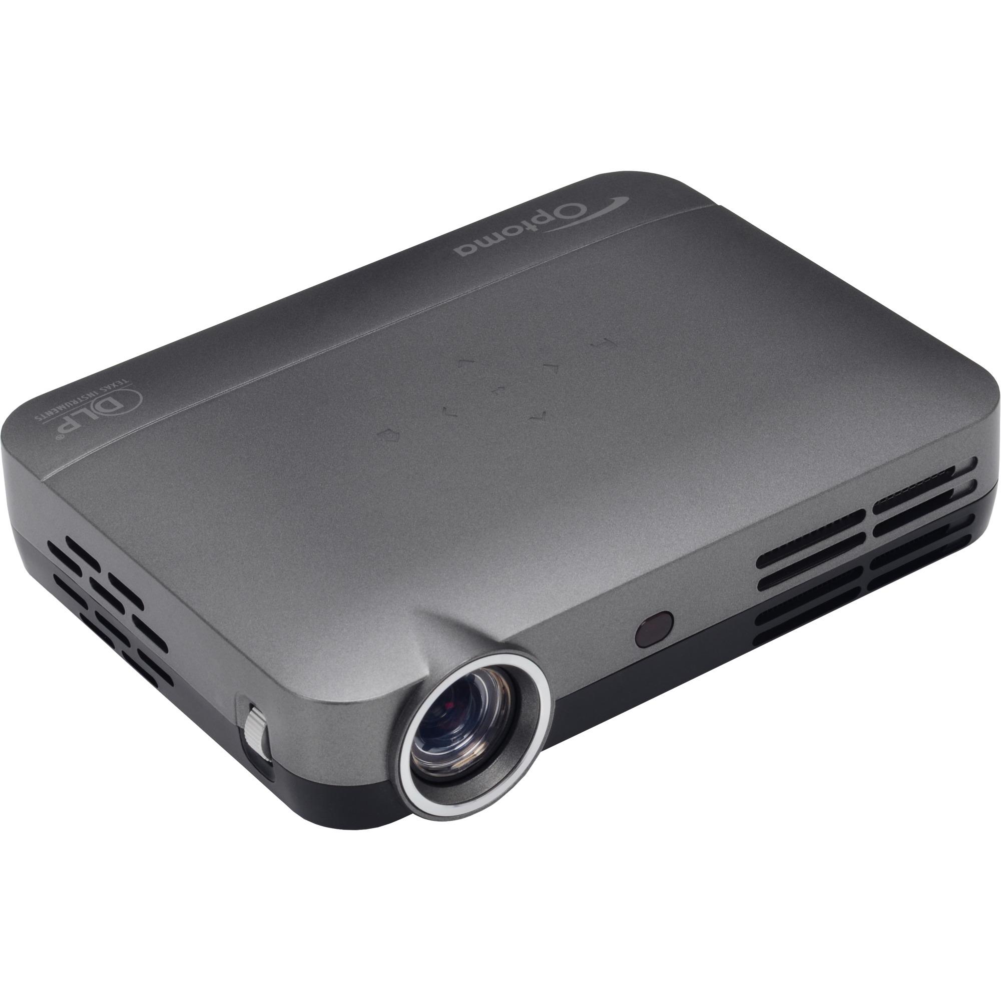 6a50c34705 Optoma ML330 Vidéoprojecteur portable 500ANSI lumens DLP WXGA (1280x800)  Compatibilité 3D Gris vidéo-projecteur, Projecteur à LED Gris, 500 ANSI  lumens, ...