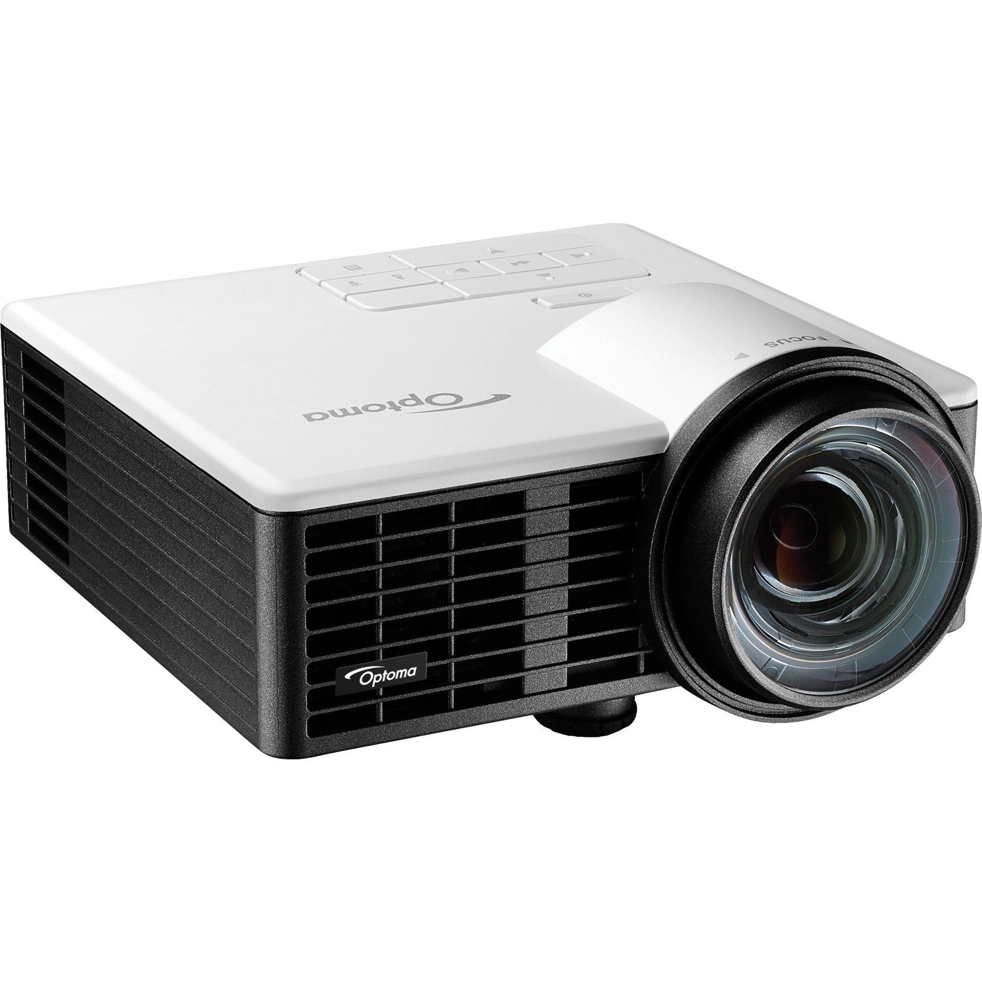 ML750ST Vidéoprojecteur portable 800ANSI lumens DLP WXGA (1280x720) Compatibilité 3D Noir vidéo-projecteur, Projecteur DLP