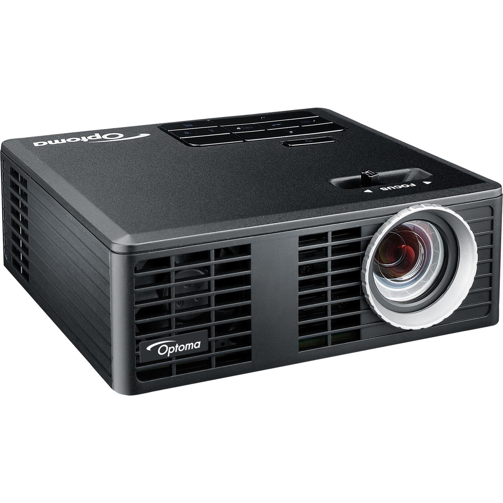 ML750e Vidéoprojecteur portable DLP WXGA (1280x800) Compatibilité 3D Noir vidéo-projecteur, Projecteur DLP