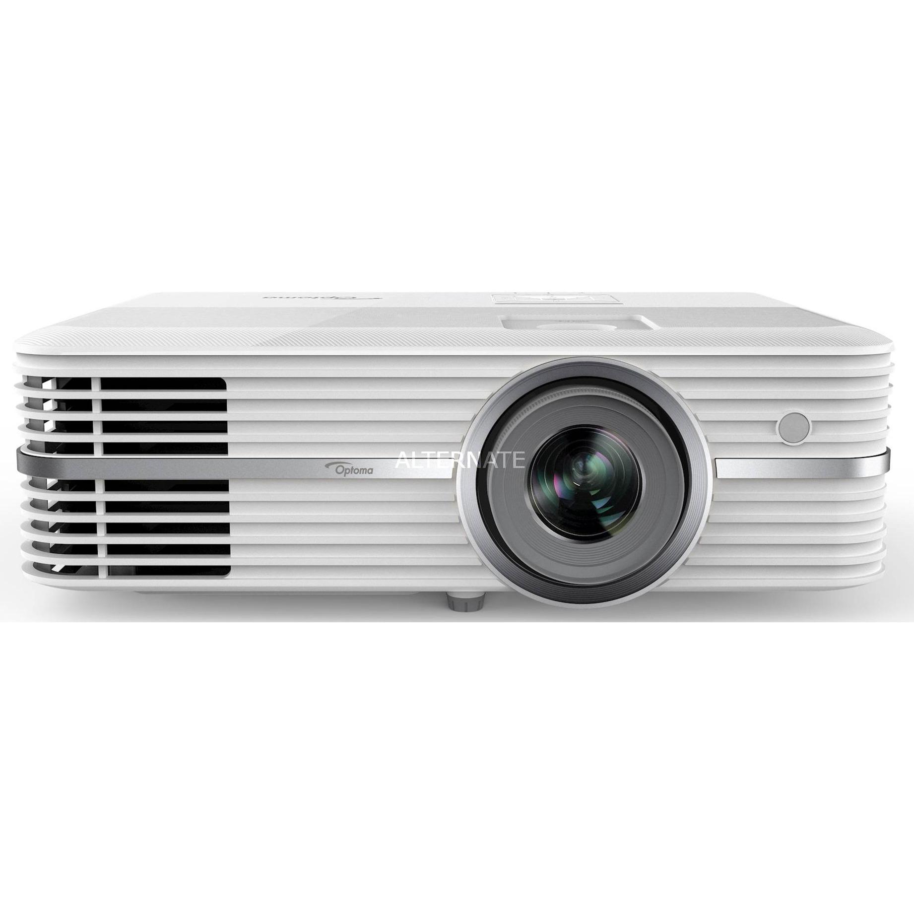 UHD300X Vidéoprojecteur portable 2200ANSI lumens DLP 2160p (3840x2160) Blanc vidéo-projecteur, Projecteur DLP