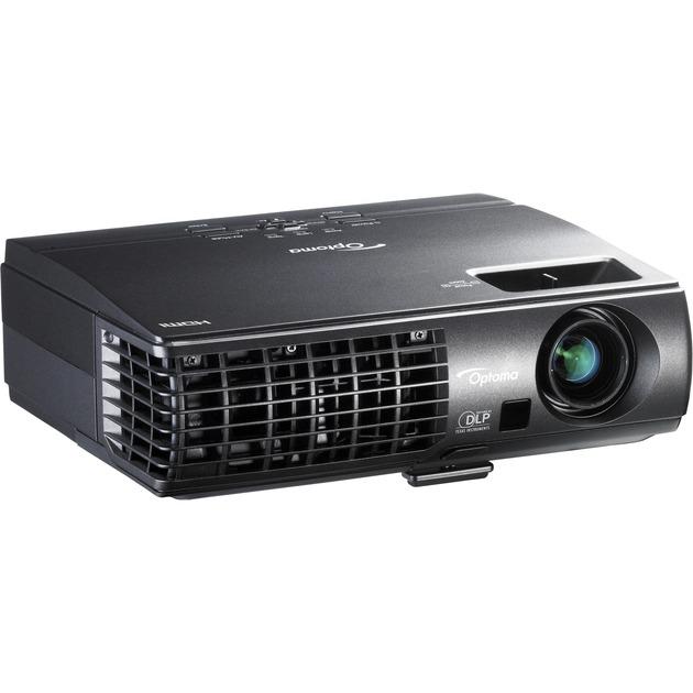 W304M Projecteur de bureau 3100ANSI lumens DLP WXGA (1280x800) Compatibilité 3D Noir vidéo-projecteur, Projecteur DLP