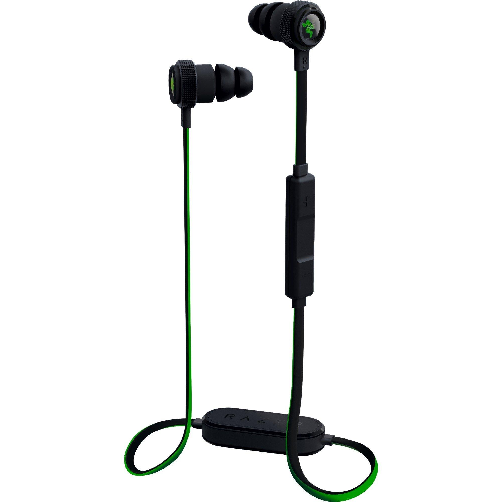Hammerhead BT écouteur Binaural Sans fil Noir, Vert casque et micro, Casque d'écoute