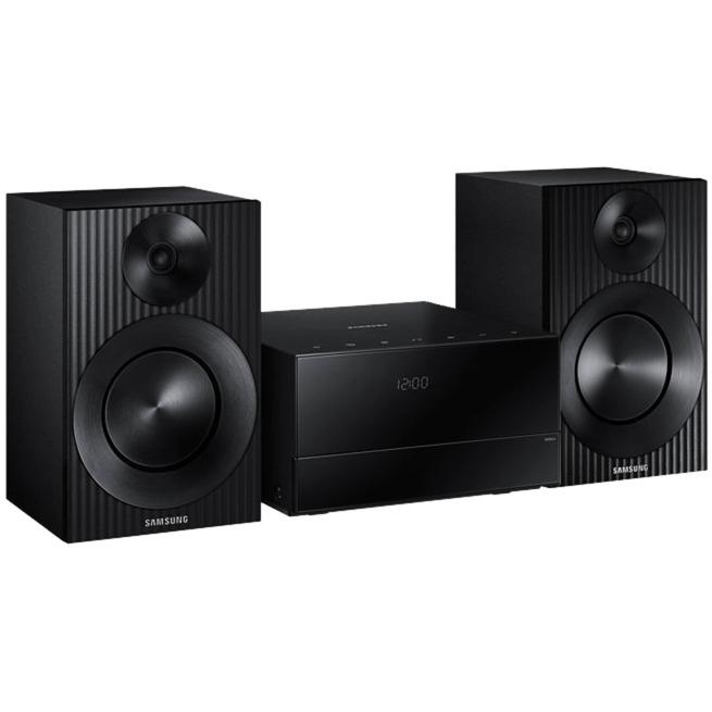 MM-J320 Home audio micro system 20W Noir ensemble audio pour la maison, Système compact