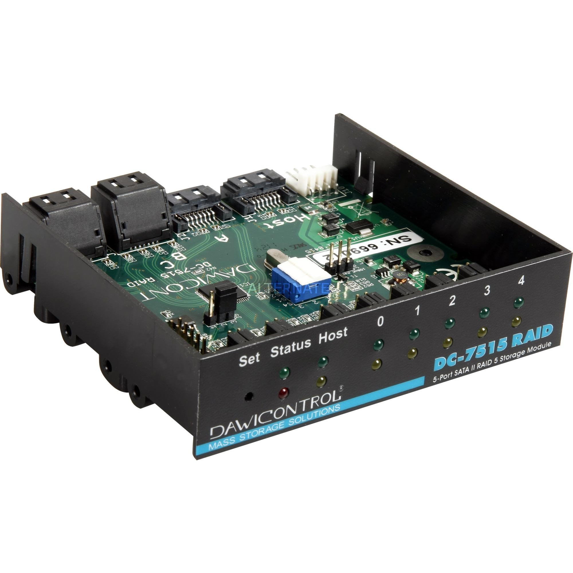 DC-7515 RAID 3Gbit/s contrôleur RAID