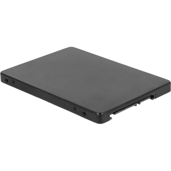 62688 SSD enclosure Noir boite de stockage, Serial ATA-Controller