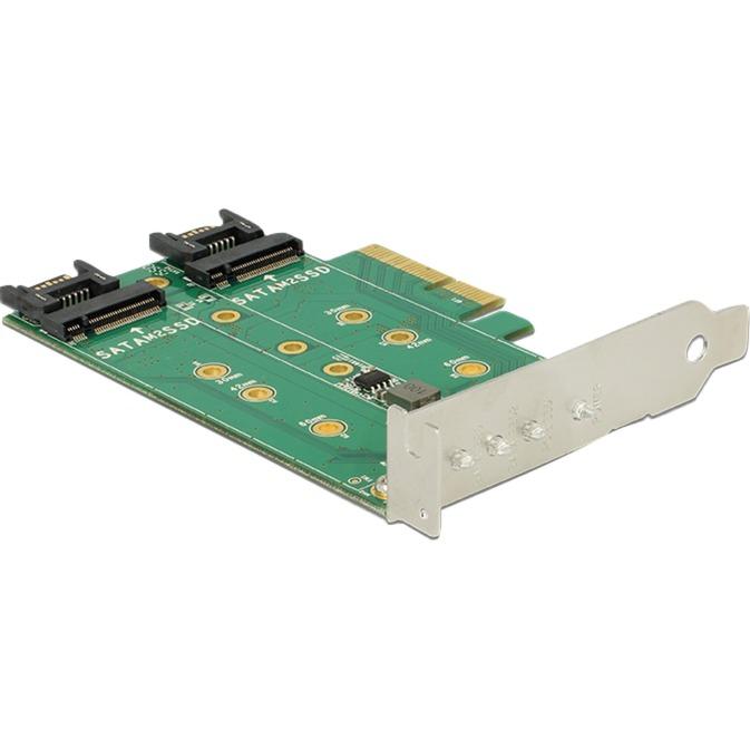89518 Interne M.2,SATA carte et adaptateur d'interfaces, Contrôleur