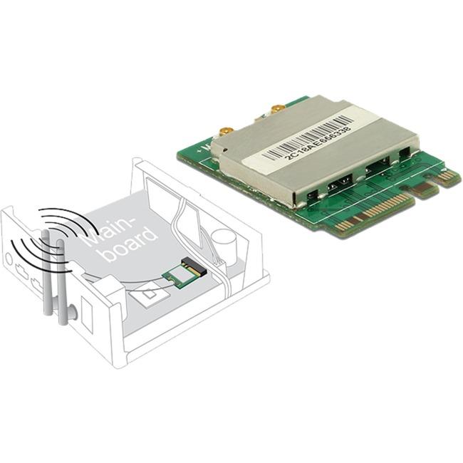 95254 WLAN/Bluetooth 433.3Mbit/s carte et adaptateur réseau, Carte réseau