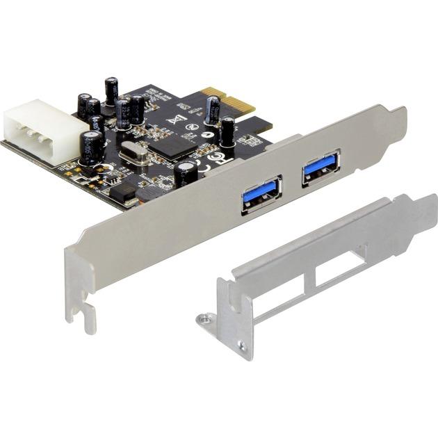 Adaptateur Dual Port USB 3.0 PCIe