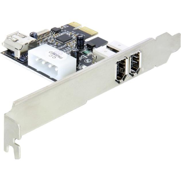 FireWire PCIe Card, 2+1 Port