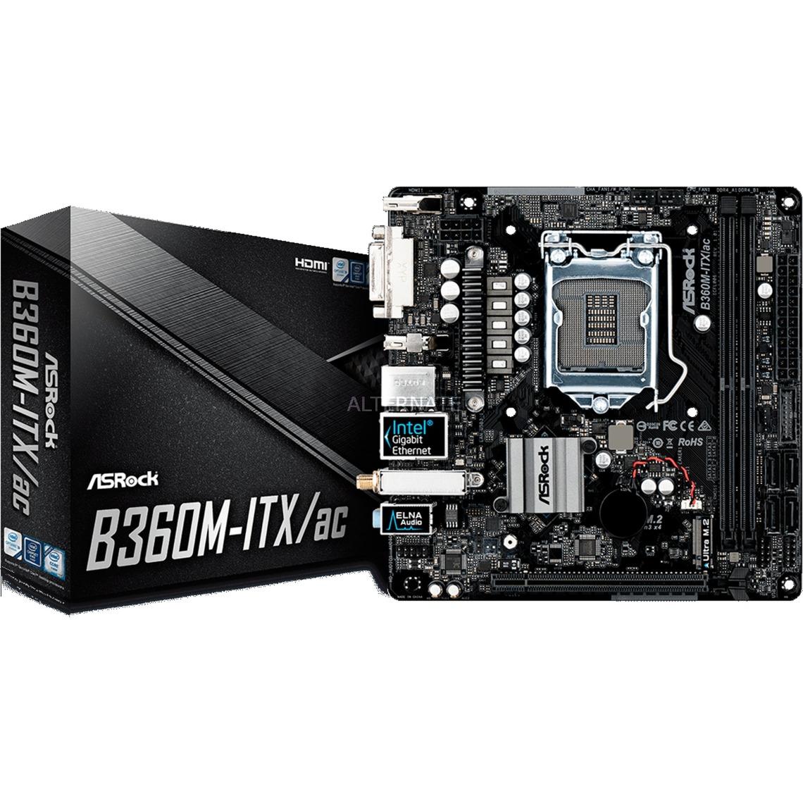 B360M-ITX/AC, Carte mère