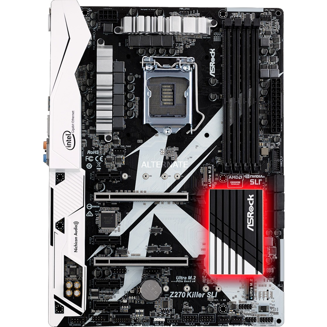 Z270 Killer SLI, Carte mère