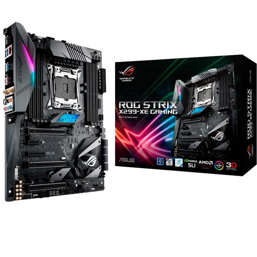 Asus STRIX X299-XE GAMING X299, Carte mère