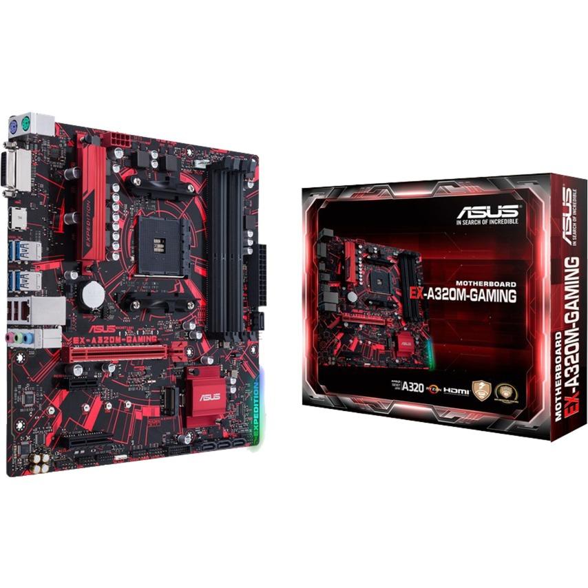 EX-A320M-GAMING AMD A320 Socket AM4 Micro ATX carte mère