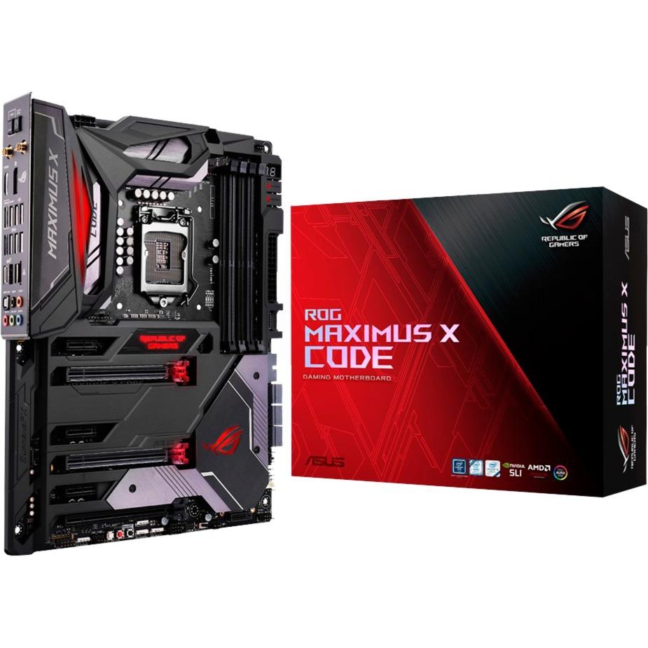 Maximus X Code Intel Z370 LGA 1151 (Socket H4) ATX carte mère