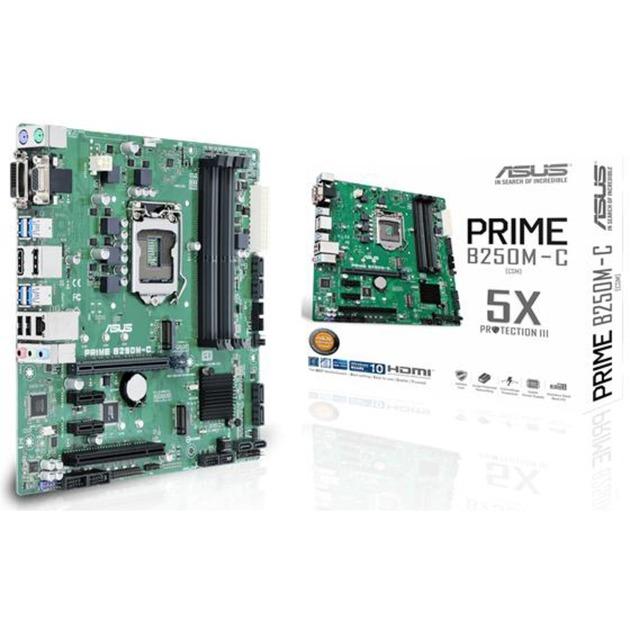 PRIME B250M-C Intel B250 LGA 1151 (Socket H4) microATX carte mère