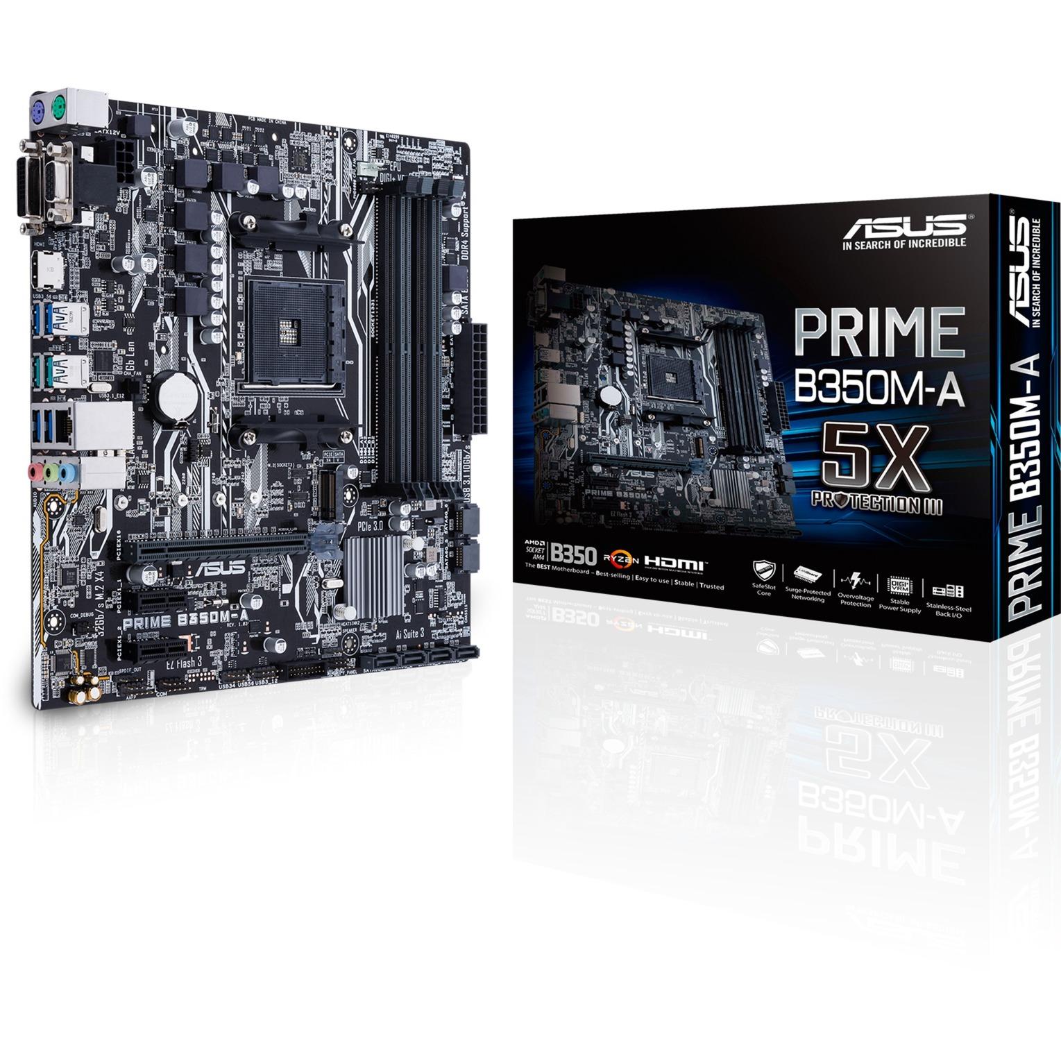 PRIME B350M-A, Carte mère