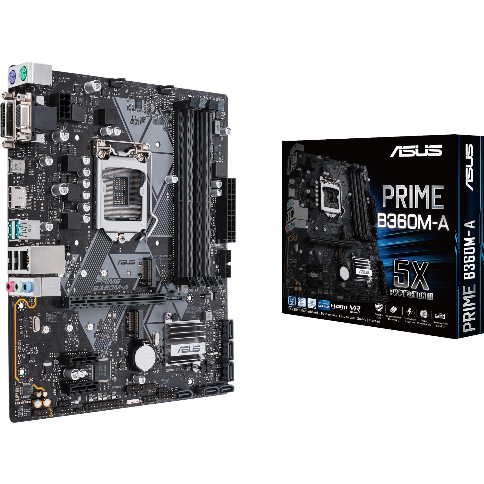 PRIME B360M-A, Carte mère