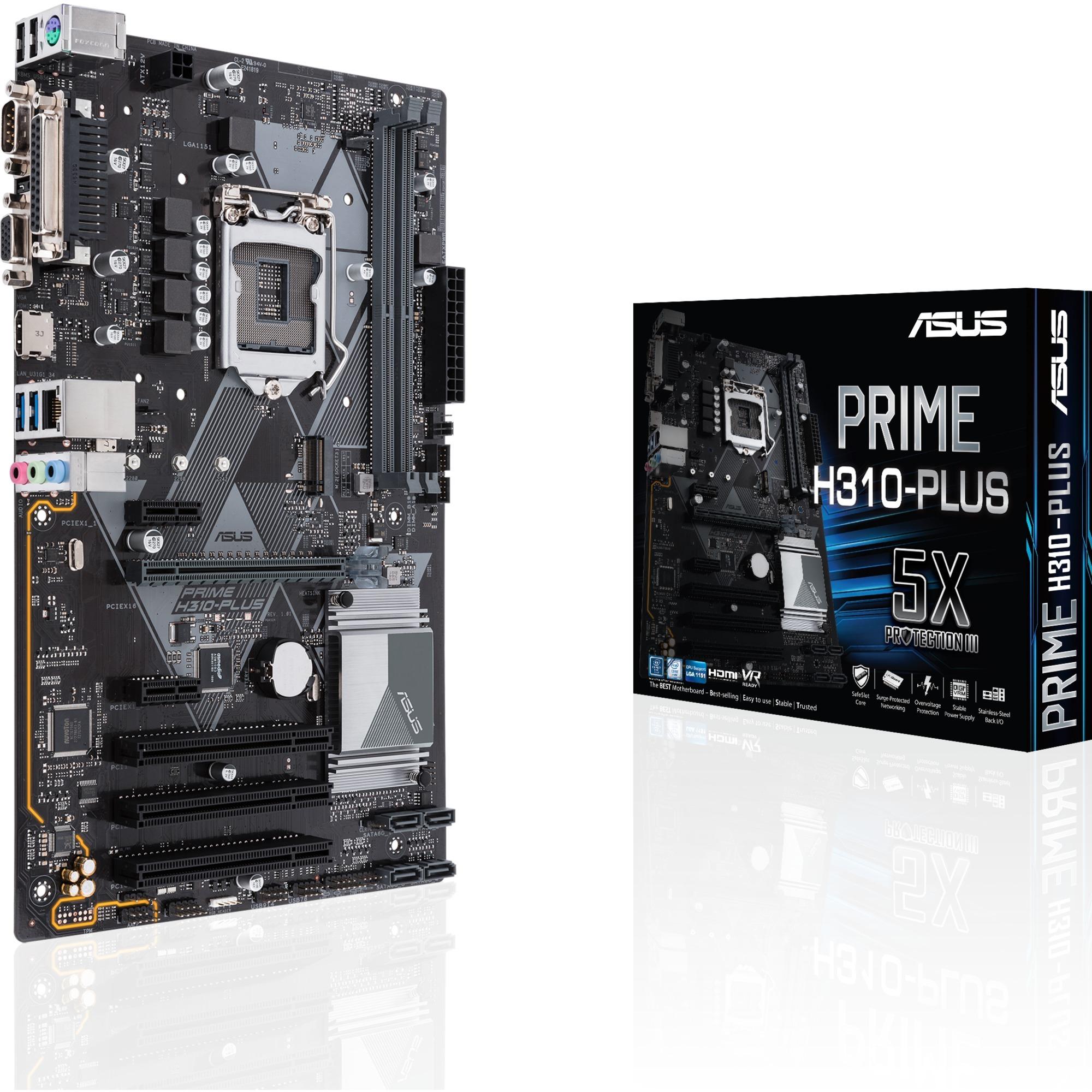 PRIME H310-PLUS, Carte mère