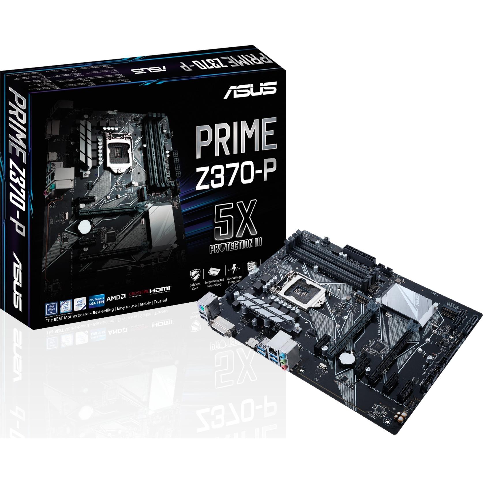 PRIME Z370-P LGA 1151 (Socket H4) ATX carte mère